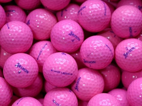 12 x Srixon Soft Feel Lady Pink (A-Luokka)